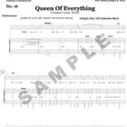 Queen Of Everything Sample Page